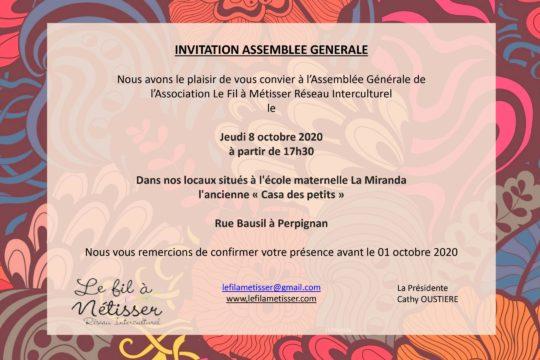 Invitation AG 2020